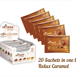 20 sachets in one box_nomad caramel